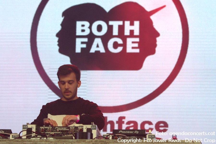Both Face, performing at La Farga of L'Hospitalet de Llobregat.