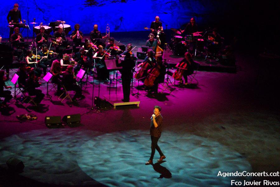 David Carabén, actuando en el Teatre Grec de Barcelona.