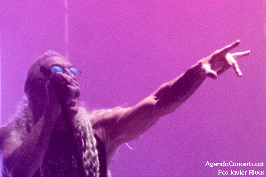 Dee Snider, actuando en el Rock Fest Barcelona 2019.