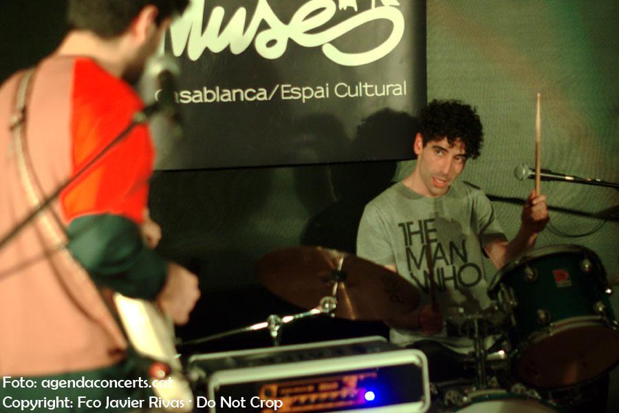 White Hounds, actuant al Lo-Fest a Les Muses de Casablanca a Sant Boi de Llobregat.