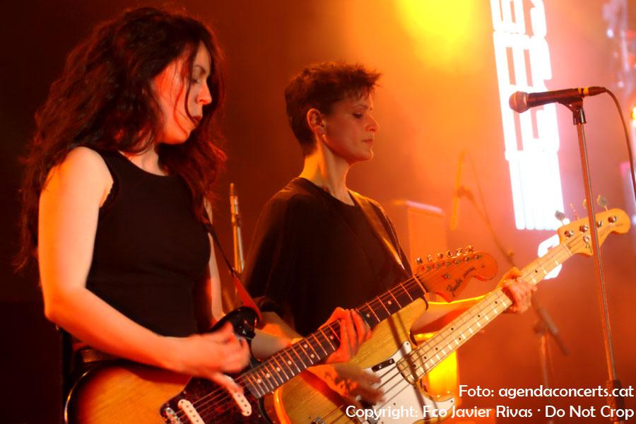 Agoraphobia, actuando en la Sala Salamandra de L'Hospitalet de Llobregat durante el Let's Festival.