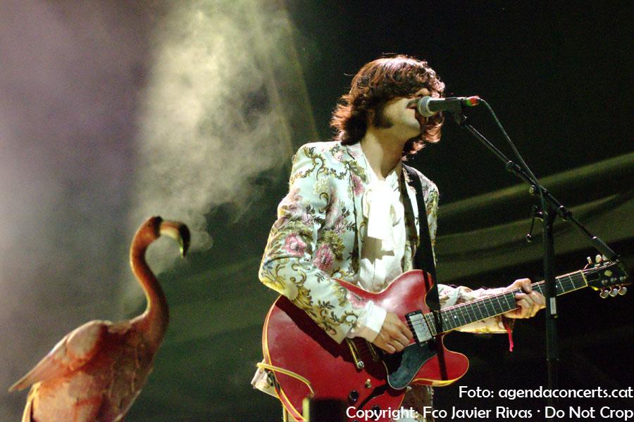 Carlos Sadness, actuando en el Share Festival de Barcelona.