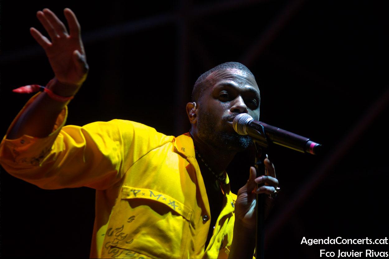 Duckwrth, actuando en el Festival BAM de Barcelona.