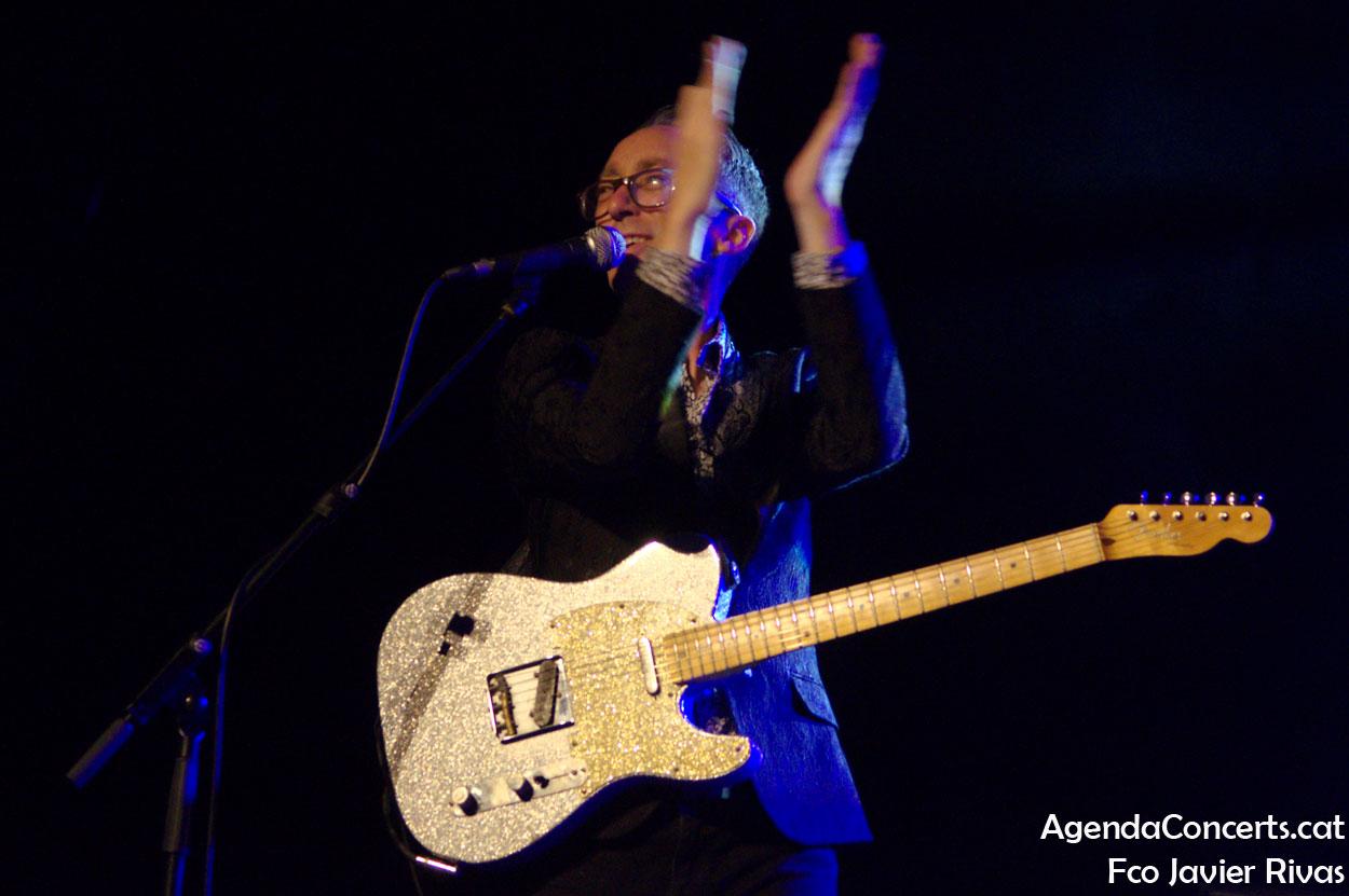 John Paul Keith, actuando en el Festival Altaveu de Sant Boi de Llobregat.