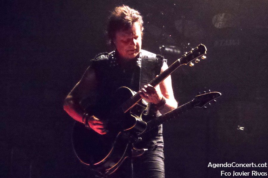 King Diamond, actuando en el Rock Fest 2019 de Barcelona.