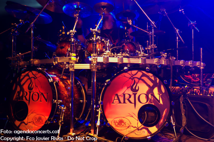Arion, performing at Razzmatazz venue in Barcelona.