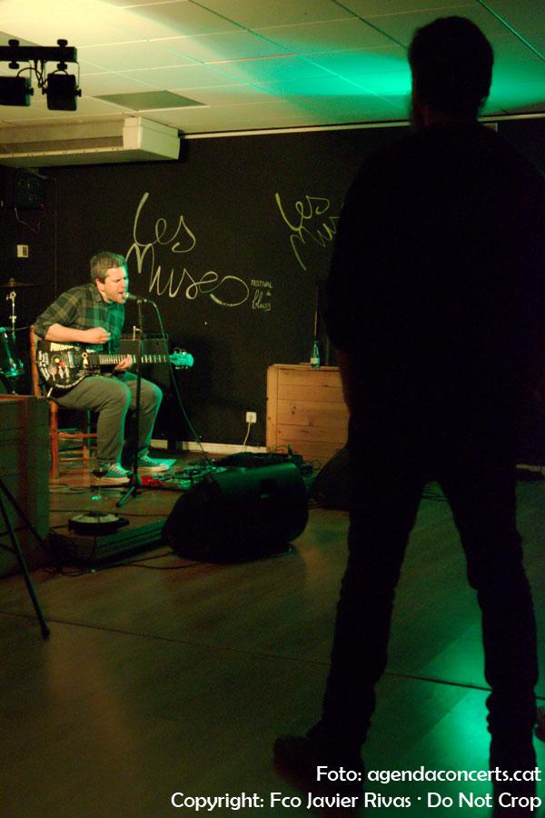 Koldo, actuando en el Lo-Fest 5 en Sant Boi de Llobregat.