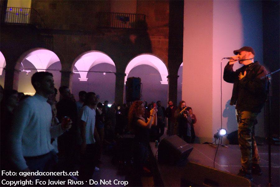 Laskaar, performing at Eufònic Urbà in Arts Santa Mónica of Barcelona.