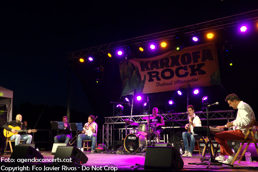 Som Caliu, performing at Karxofarock 2019 music festival of Sant Boi de Llobregat.