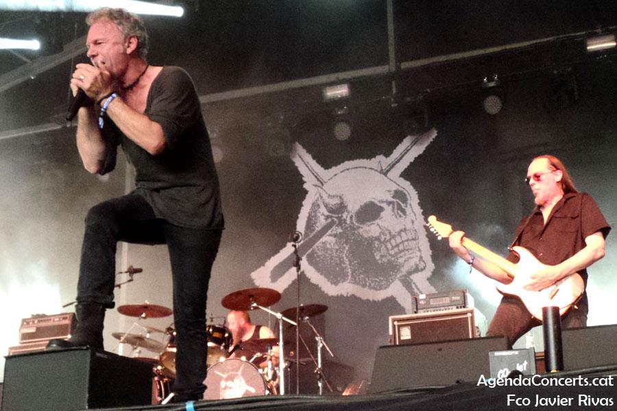 Candlemass, actuando en el Rock Fest Barcelona 2019.