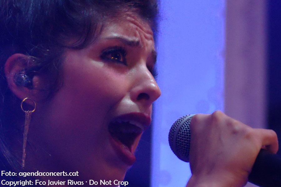 Soleá Morente & Napoleón Solo, actuando en el Festival Cara·B de Barcelona 2019.