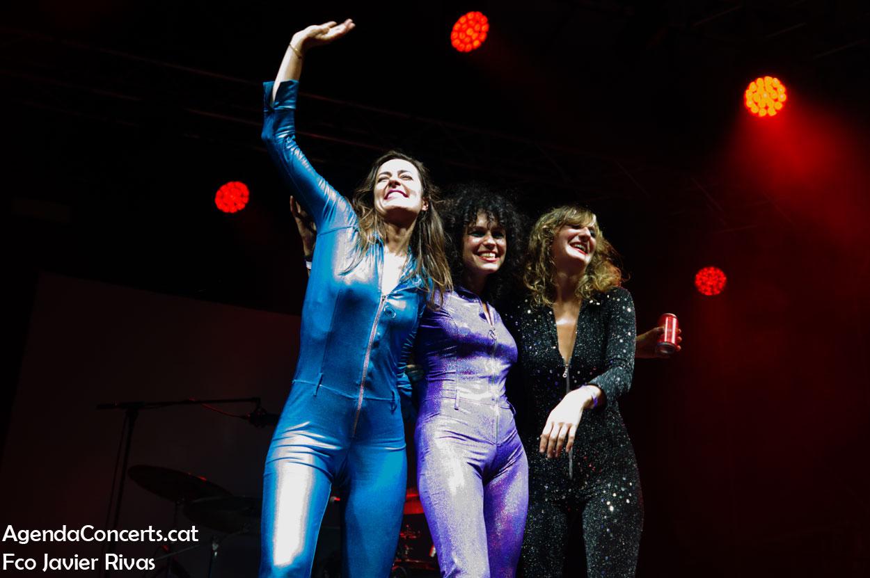 The Mani-las, actuando en el Festival Altaveu 2019 de Sant Boi de Llobregat.