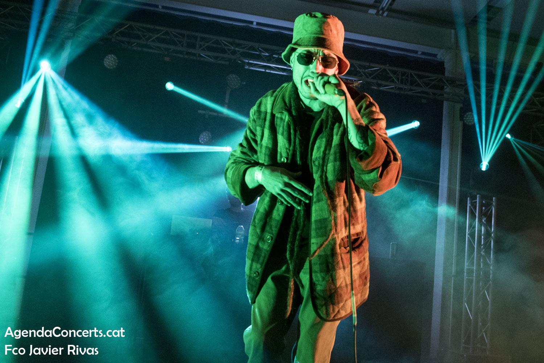 Fanso, actuando en el Festival Cara·B 2020 de Barcelona.