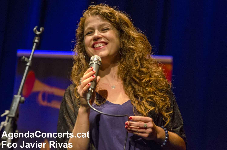 Gemma Abrié Quartet, actuant a la Mostra de Jazz de Sant Boi de Llobregat 2020.