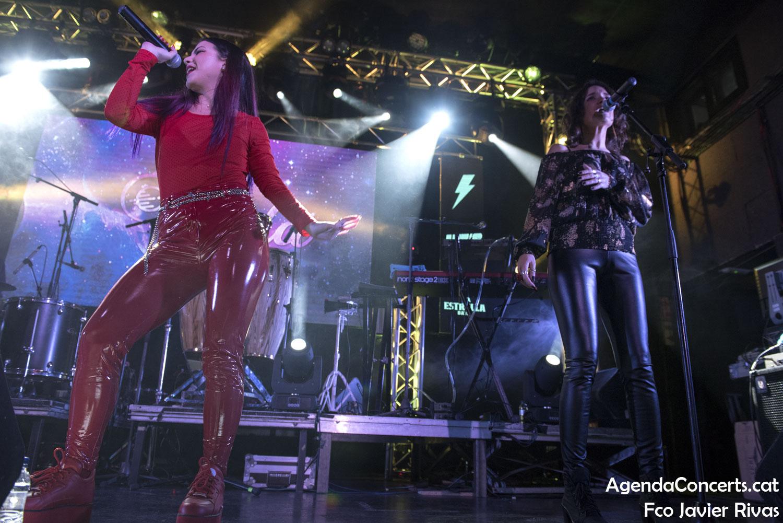 Aiala, actuant al Let's Festival de L'Hospitalet de Llobregat.